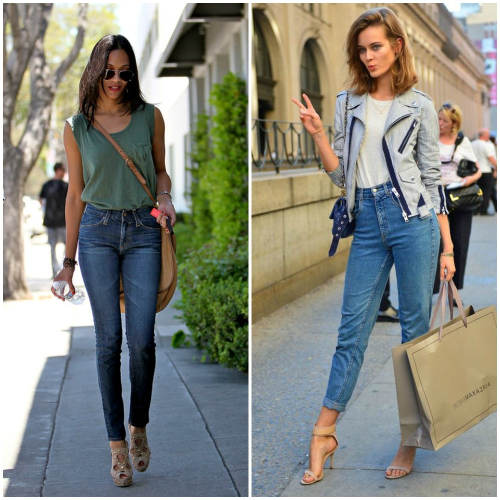 high waisted cropped jeans - top uk fashion blog trends 2014 street style outfits