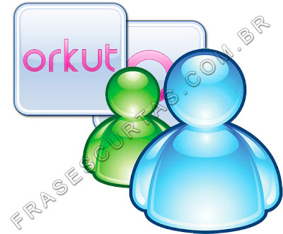 Frases do MSN e Orkut