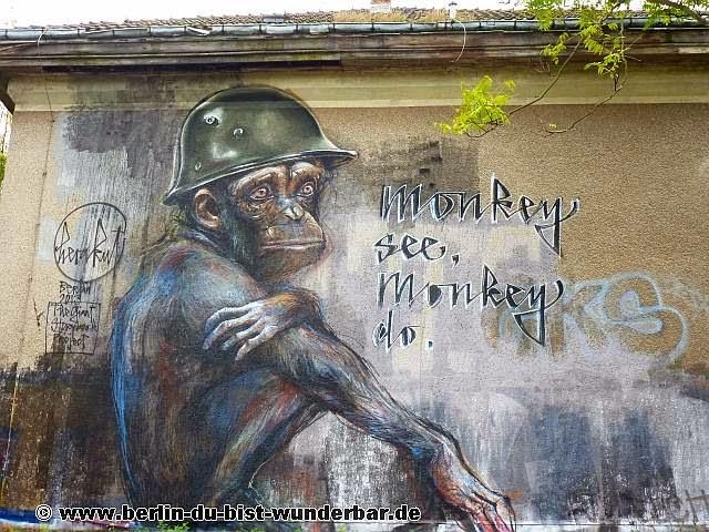 Street art, Berlin, Graffiti, Murals, kunst