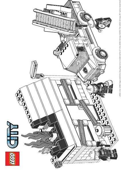Malvorlagen Lego City Bilder Zum Ausmalen Ausmalbilderhq