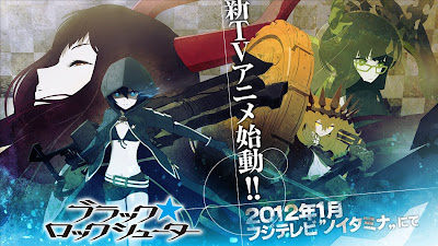 Black Rock Shooter Anime TV 2012