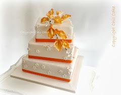 wedding cake calle arancio
