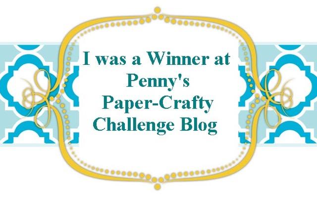 Penny's Paper Crafty Winner