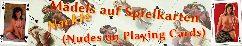nackte maedels auf spielkarten (nudes on playing cards)