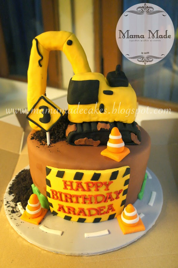 Construction Themed Cake And Cookie Set Mama Made Cakes