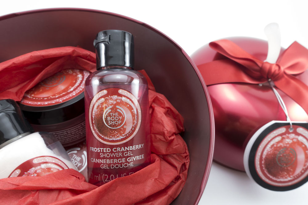 #giftmas | Body Shop Frosted Cranberry Feel Good Tin
