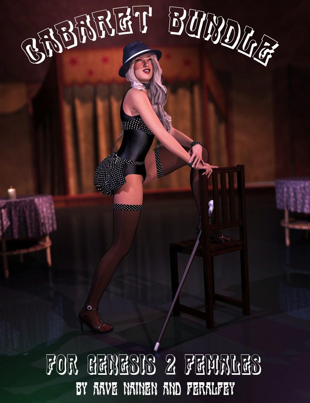 Cabaret Bundle pour Genesis 2 Femme