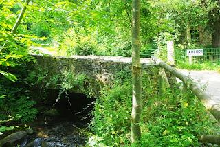 Vista del puente del Molín