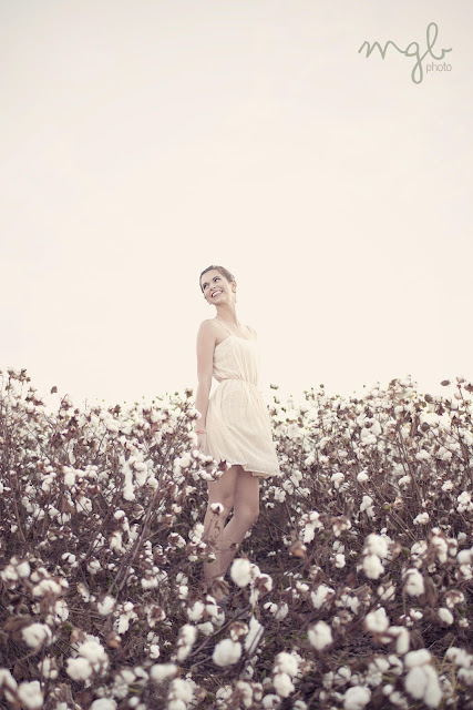 Mallory Berry photography, a style of your own blog, cotton field shoot, blush dress