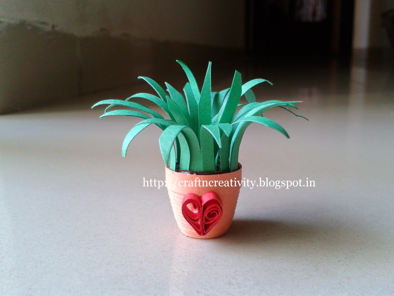 Craft N Creativity 3D Quilling Miniature Plants