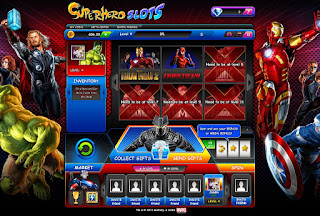 Dardevil game at Superheroes Slot open at third level
