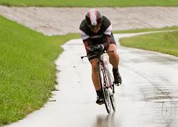 In the rain in Dayton, OH last October