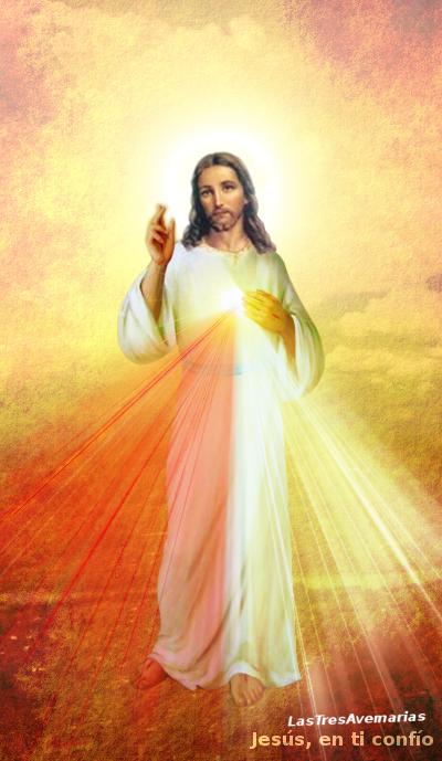 divina misericordia en el cielo