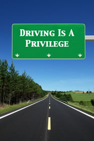 is driving privilege or right Find out why driving is not a right promised to every person, but rather a privilege granted to people who complete certain requirements.