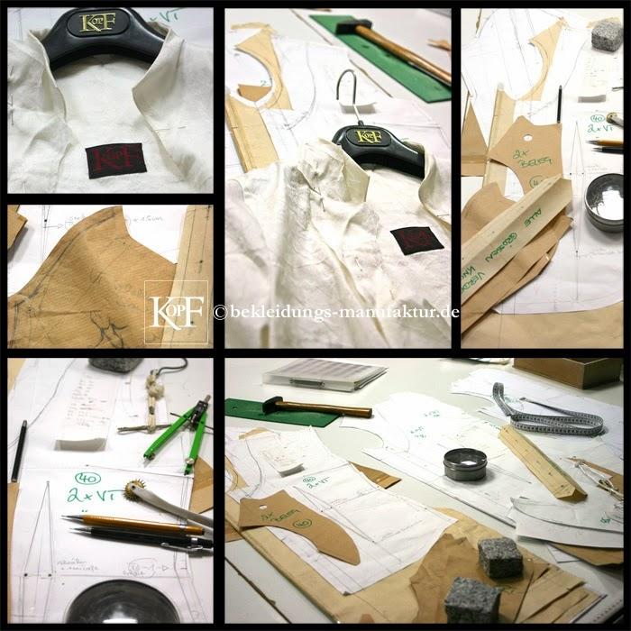 Atelier-Werkstatt , KOPF | Bekleidungs-Manufaktur