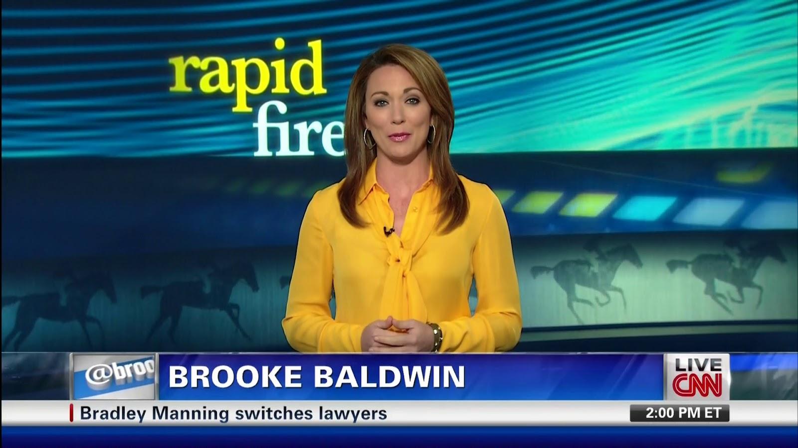 Br Brooke Baldwin Black See Thru Blouse