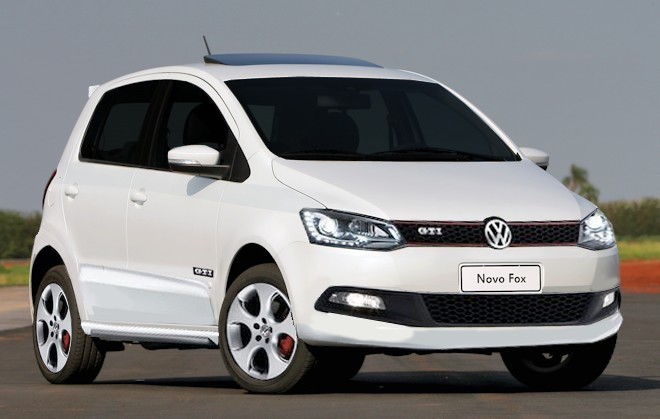 novo Volkswagen Fox 2014 dianteira