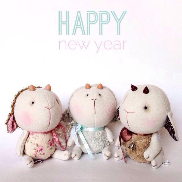 овечка, барашек, новый год,ручная работа, новогодняя овечка, символ года, 2015