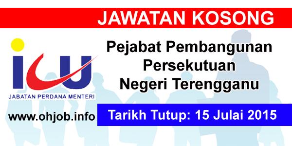 Jawatan Kerja Kosong Pejabat Pembangunan Persekutuan Negeri Terengganu logo www.ohjob.info julai 2015