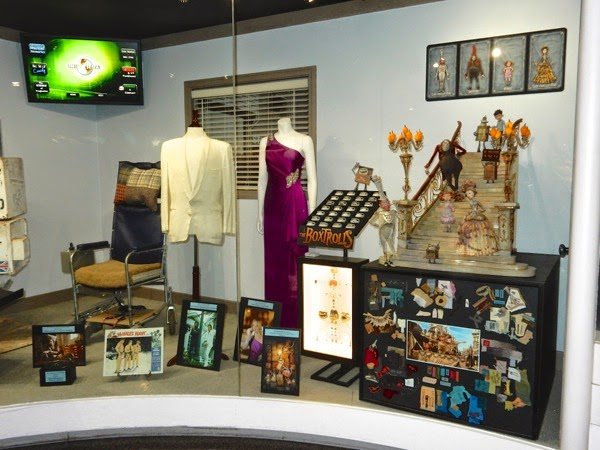 Original TV movie costume prop exhibit