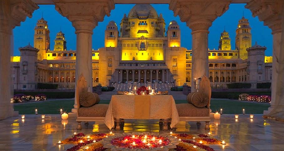 Umaid Bhawan Palace in Jodhpur,Rajasthan