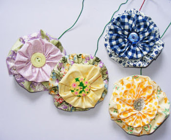 Fabric Flower Craft