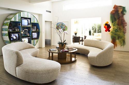 Decorando dormitorios dise o de salas con muebles elegantes - Diseno de muebles de sala ...