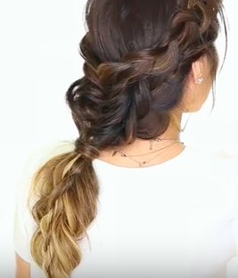 "Long Hair Braidl: The ""Briads in Braid"" Hairstyle"