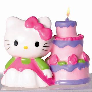 Tarjeta de Cumpleaños de HELLO KITTY para Imprimir