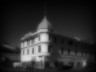The ghost of Mary, a bride to be, haunts the Golden North Hotel where she died waiting for her fiancé to return from a prospecting trip.
