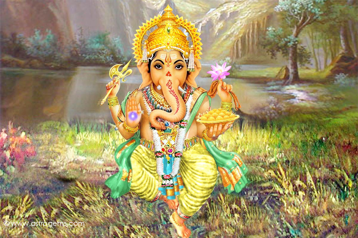 lord ganesha wallpaper computer background - photo #42