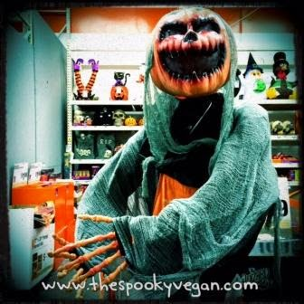 The spooky vegan halloween 2014 at home depot Halloween decorations home depot