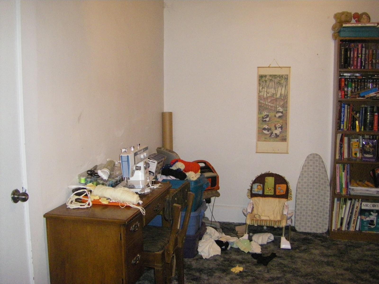 Woodworkingmomma Messy Mondays Living Room