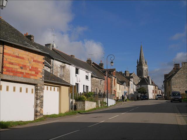 Renac, le bourg 35