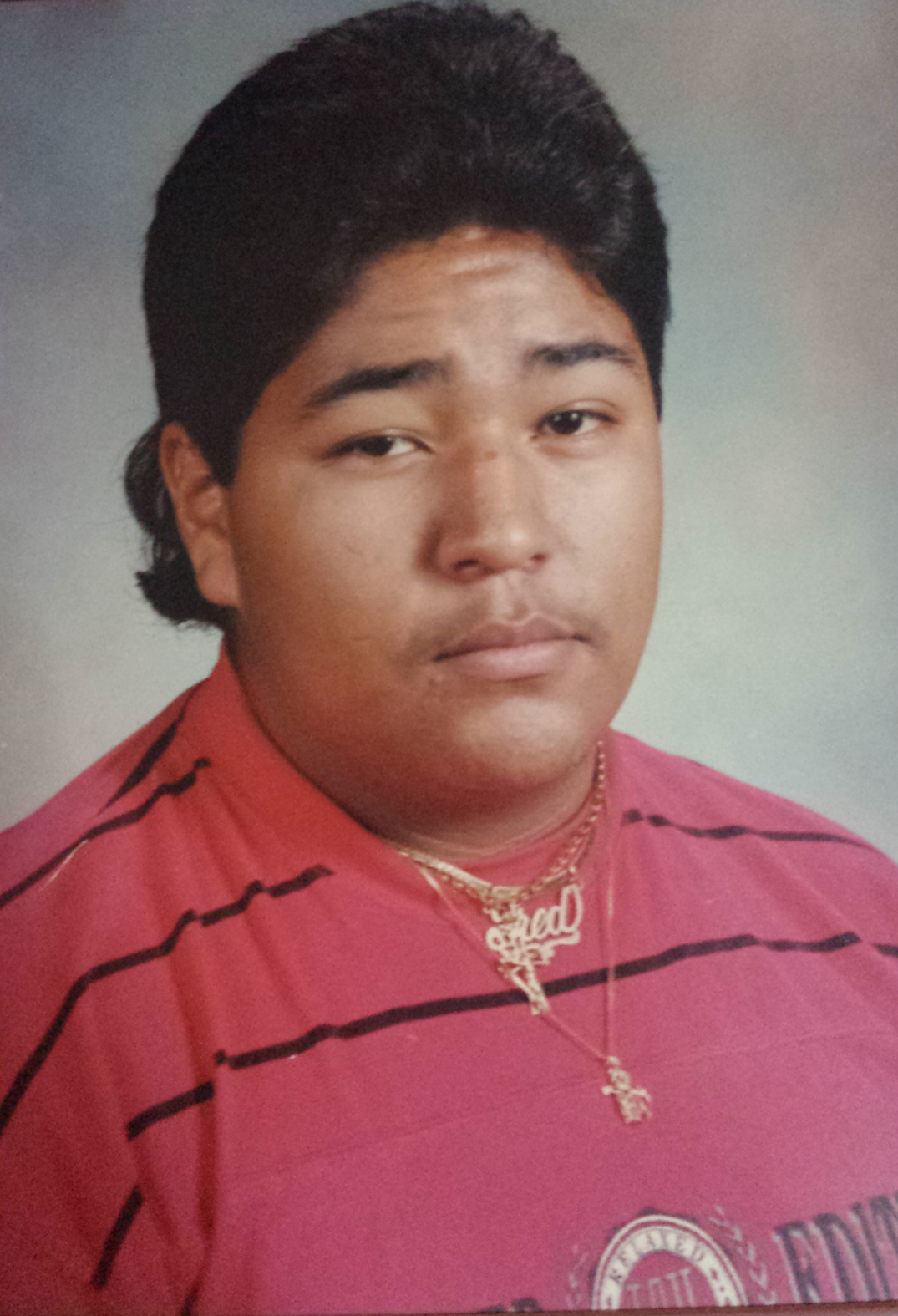 flashback friday high school picture Fred Lechuga