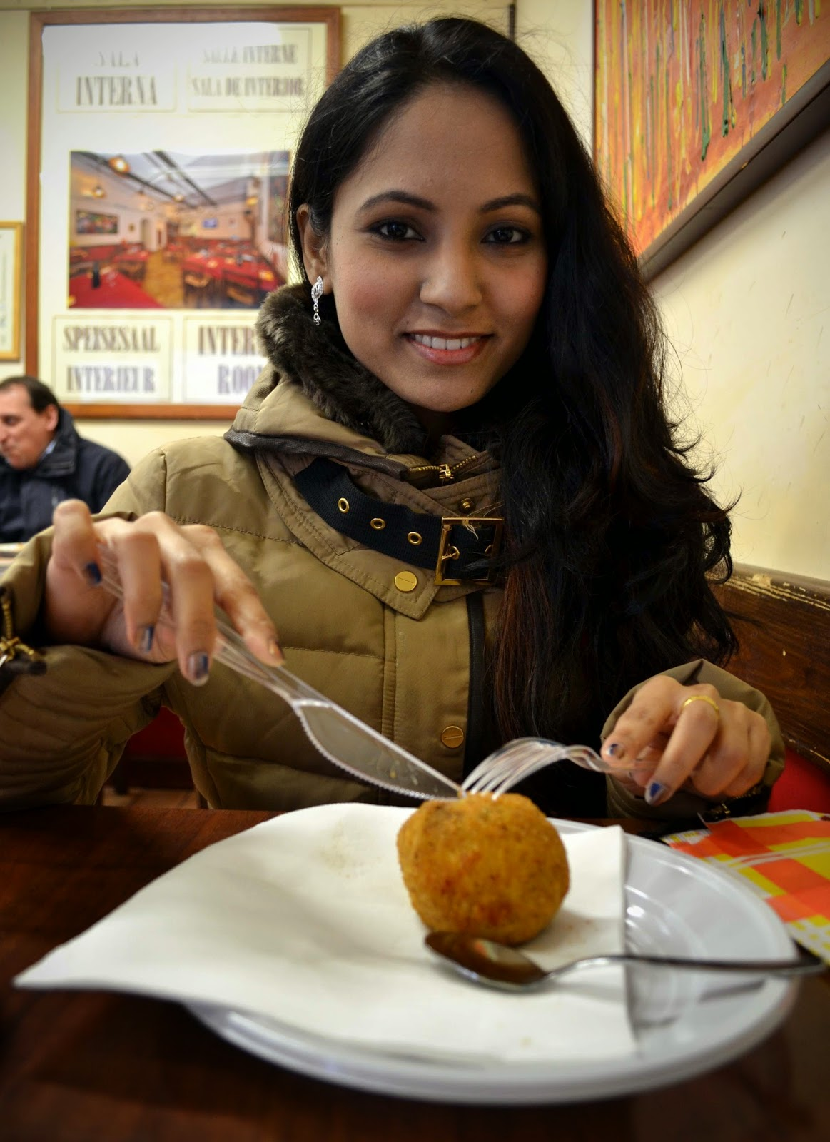 Indian food in Rome