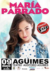 María Parrado en concierto