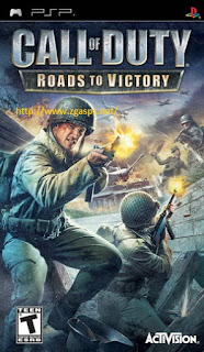 Free Download Game Call of Duty Roads to Victory PSP ISO  Full Version ZGAS-PC