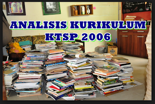 analisis kurikulum ktsp 2006