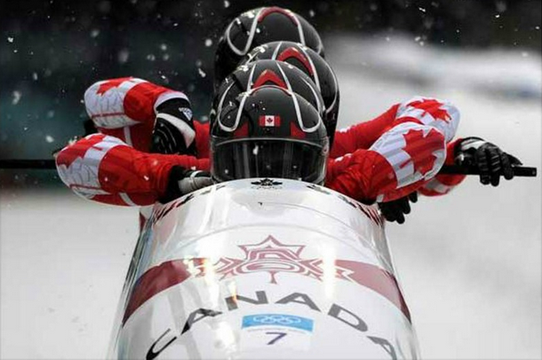 Canada's Olympic Bobsled Team