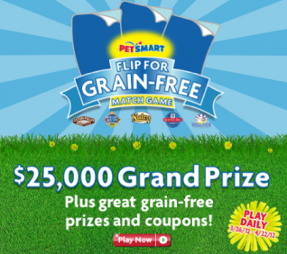 PetSmart Flip For Grain-Free Match Game