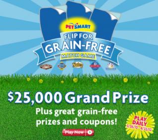 PetSmart Flip For Grain-Free Match Game