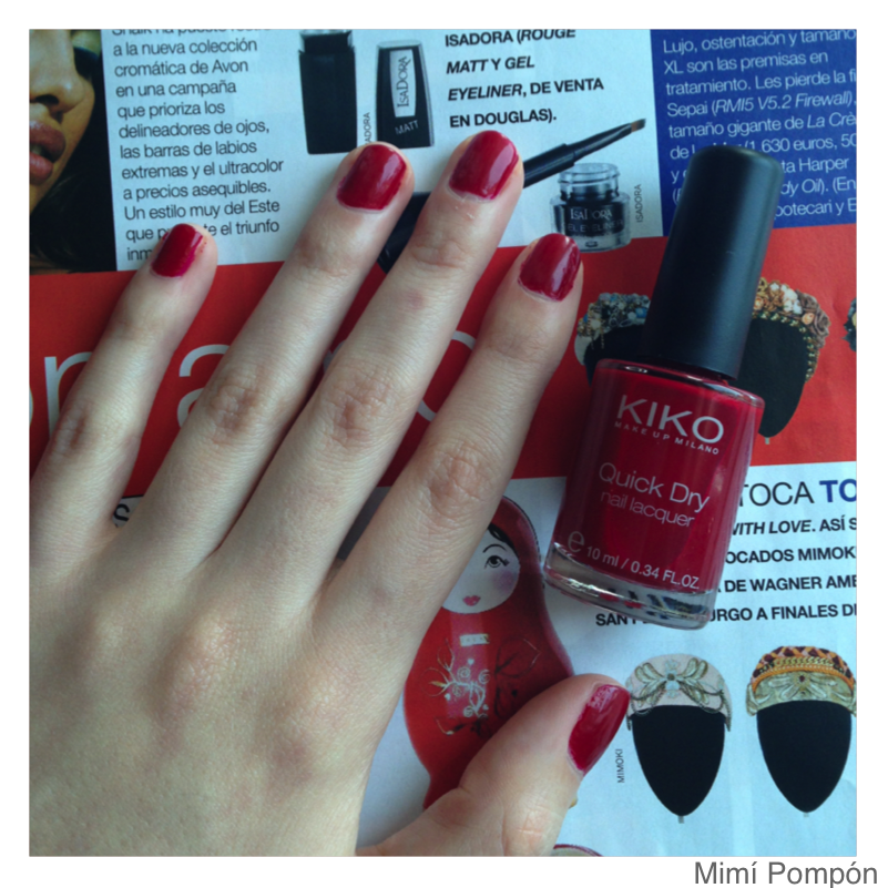 Le Blog de Mimí Pompón: The perfect red nailpolish