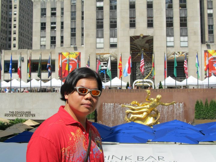 New York City Rockefeller Center Prometheus Broze statue