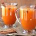 عصير البرتقال بالقرفة والفانيليا