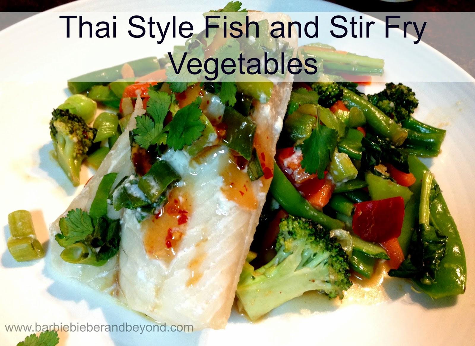 Thai Style Fish Recipe