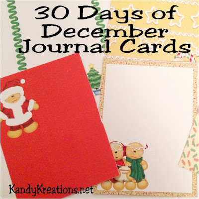 Journal your way through the month of December with these 30 printable journaling cards.  These cute gingerbread men and sweet elf printable cards will be the perfect addition to your Scrapbooking, notes, and lists.
