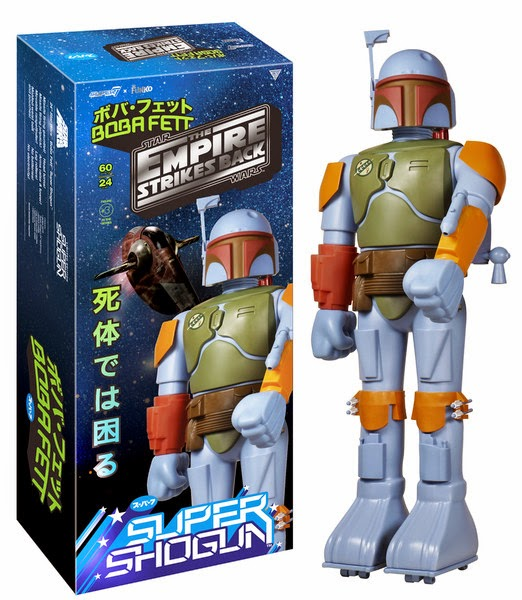 Star Wars Celebration 2015 Exclusive Boba Fett Super Shogun Vinyl Figure by Super7 & Funko