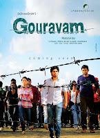 Allu Sirish Gouravam movie First Look Poster1