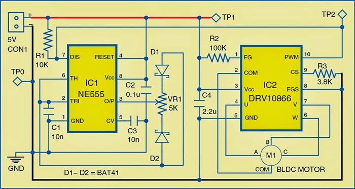 Circuit%2Bof%2Bbrushless%2BDC%2Bmotor%2Bdriver brushless dc motor driver circuit diagram schematics world bldc motor controller wiring diagram at creativeand.co